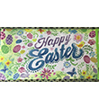 Happy Easter Door Mat Insert