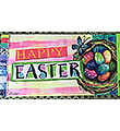 Easter Egg Basket Door Mat Insert