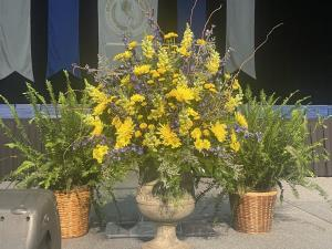 PODIUM ARRANGMENT
