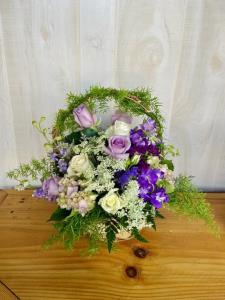 Lavender Basket Of Love