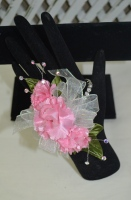 The Mini Carnation Wrist Corsage