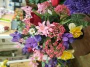 Spring Cemetary Vase