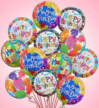 air rangement Happy Birthday
