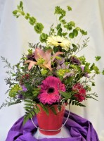 Bright Blossoms Bouquet