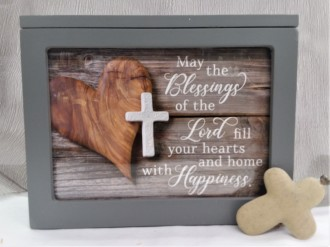 May the Blessings of the Lord...Lighted Box