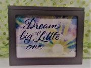 Deam Little One...Lighted Box