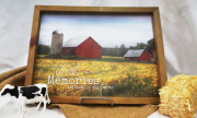The Best Memories are Made On the Farm Print