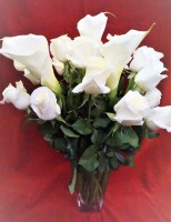 Roses and Calla Lilies Bouquet