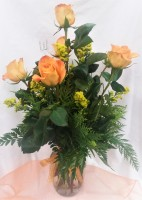 Roses and Goldenrod Bouquet