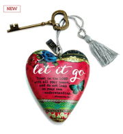 Let It Go Art Heart