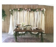Ribbon Backdrop or Archway