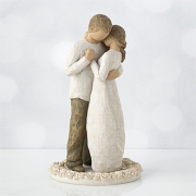 WILLOW TREE PROMISE (CAKE TOPPER)