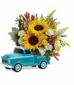 Chevy Pickup Sunny Bouquet