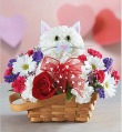 Flirty Feline Basket