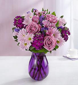 Lavender Dreams-Violet Vase