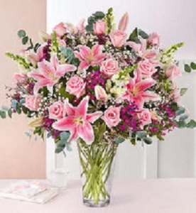Pink Embrace Bouquet