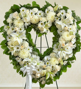 Always Remembered White Heart