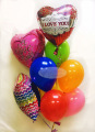 I love you! Balloon Bouquet