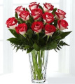 1 Dz Latin Lady Rose Bouquet ( new variety of Fire & Ice)