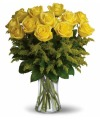 Lush Yellow Rose Bouquet