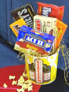 Movie Night Snack Bucket