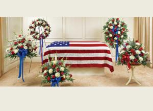Patriot\'s Full Service Sympathy Pkg (no casket)