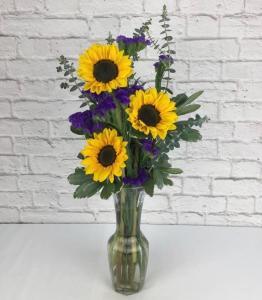Sunflower Budvase