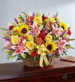 Texas Sunrise Sympathy Basket