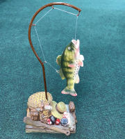 Fishing Figurine