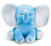 Blue Plush Elephant