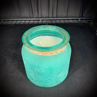 Turqouise Candle