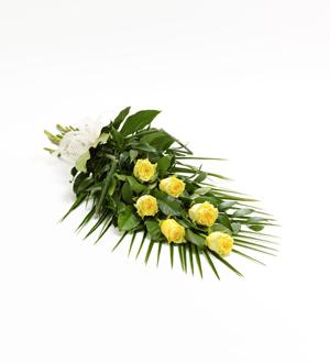 Simple Rose Sheaf - Yellow