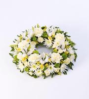 Classic Wreath - Yellow and Cream