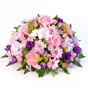 Classic Posy Lilac and Pink - Funeral