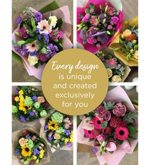 Standard Florist Choice Hand -Tied