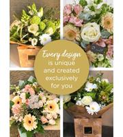 Florist Choice Sympathy Hand-Tied