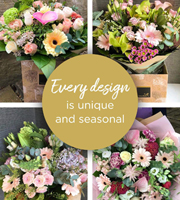 Florist Choice Hand-Tied Pastels