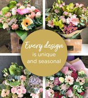 Florist Choice Hand-Tied Pastels Deluxe