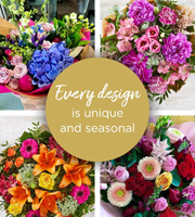 Florist Choice Hand-Tied Brights Premium