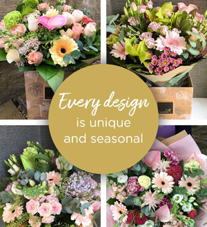 Florist Choice Hand-Tied Pastels Premium