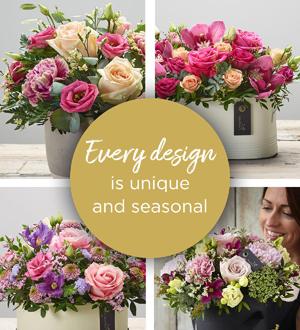 Florist Choice Arrangement - Pastels Deluxe