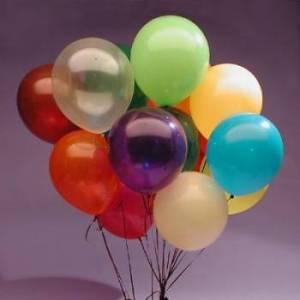 12 Latex Balloons