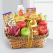 Best Wishes Fruit and Snack Basket
