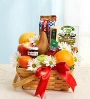 The Gourmet Fruit and Combo Baskert