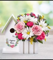 Happiness Blooms™ Birdhouse – Pink