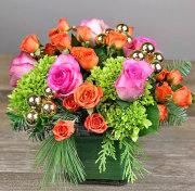 Holiday Pizzazz Rose Bouquet