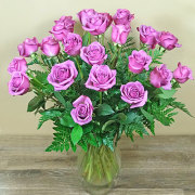 24 Lavender Rose Bouquet