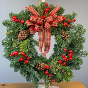 Ballard's Northwest Evergreen Wreath