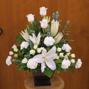 White Peace Bouquet