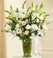 White Remembrance Bouquet
